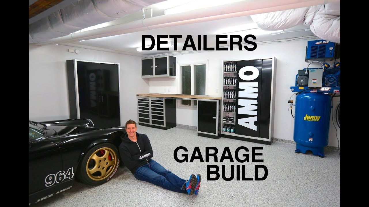 Ultimate Garage Build For Detailers Auto Detailing