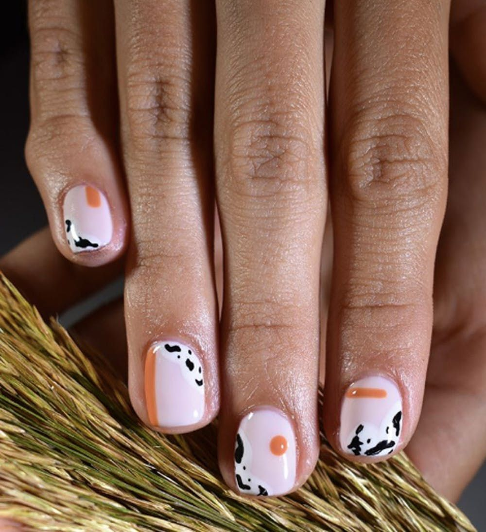 Pretty Polished: How to Nail Fall's Animal-Print Mani Trend