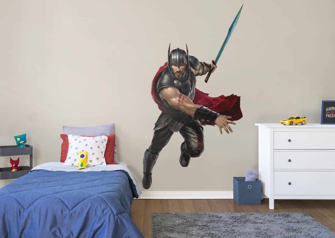 Wallpaper mural for Kids bedroom Thor Ragnarog Marvel Hulk photo wall art decor
