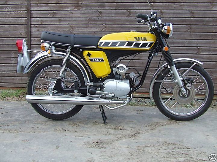 yamaha 50cc moter bikes pinterest motos anciennes moto et ancien. Black Bedroom Furniture Sets. Home Design Ideas