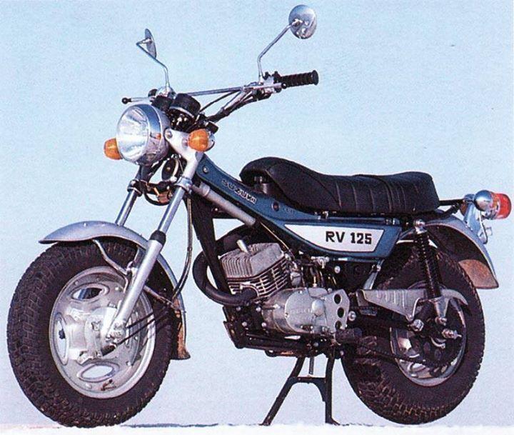 Suzuki Van Van 125 1972 | Cheezy | Honda motorcycles, Moto