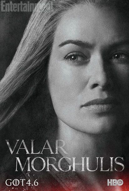 Game Of Thrones New Season 4 Posters Plus Tyrion Video Cersei