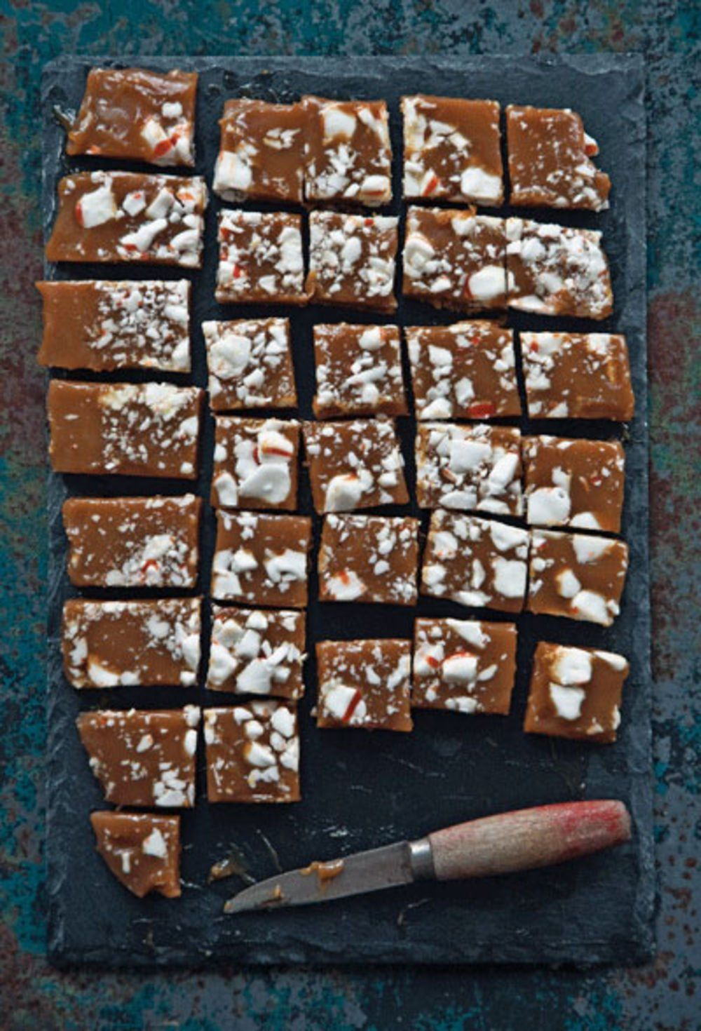 Peppermint Caramels
