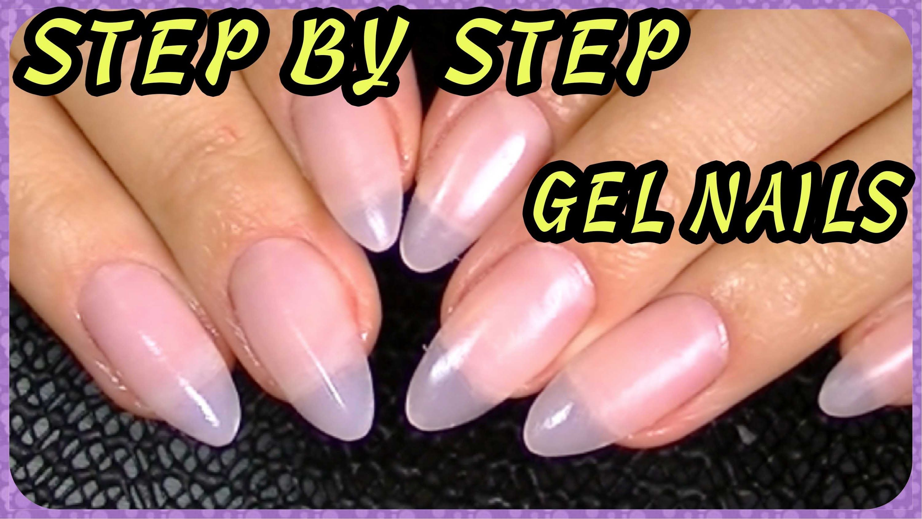 How To Oval Almond Shaped Stiletto Nails How I Do My Gel Nails Hard Gel Nails Glitter Gel Nails Gel Nails Diy