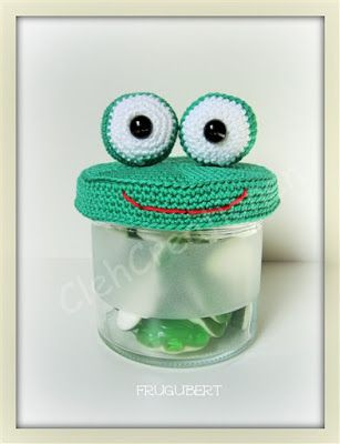 FREE frog lid CLEH-Creationen: Freebies