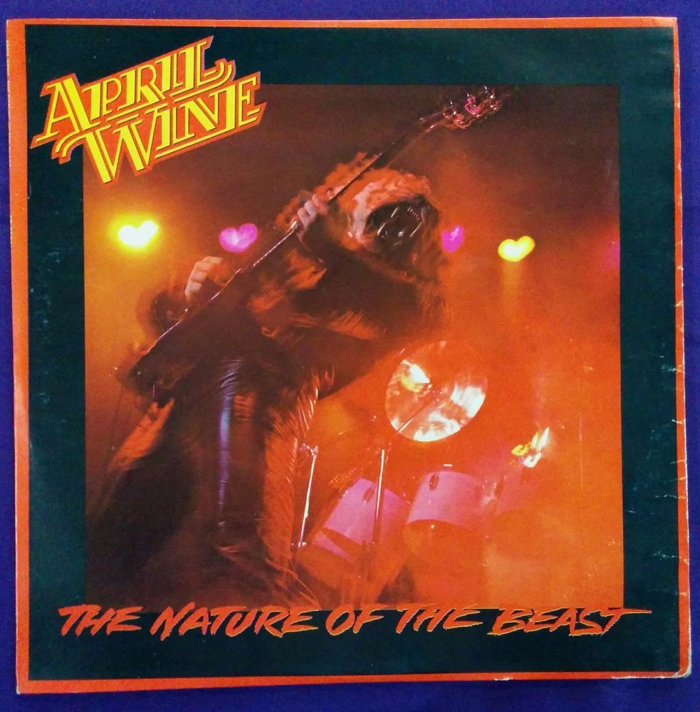 April Wine The Nature Of The Beast Venezuela Issue Hardrock Beast Hard Rock Record Store