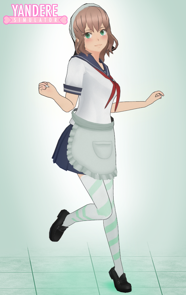 how to download a yandere simulator skin off of deviantart