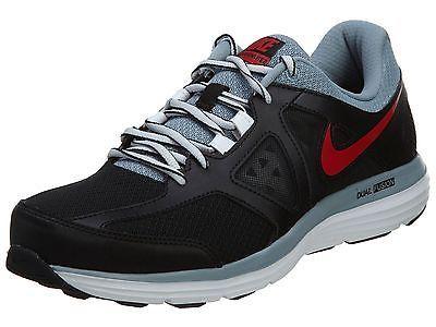 Nike Dual Fusion Lite 2 Msl Mens 642821-016 Black Grey Red Running Shoes Sz
