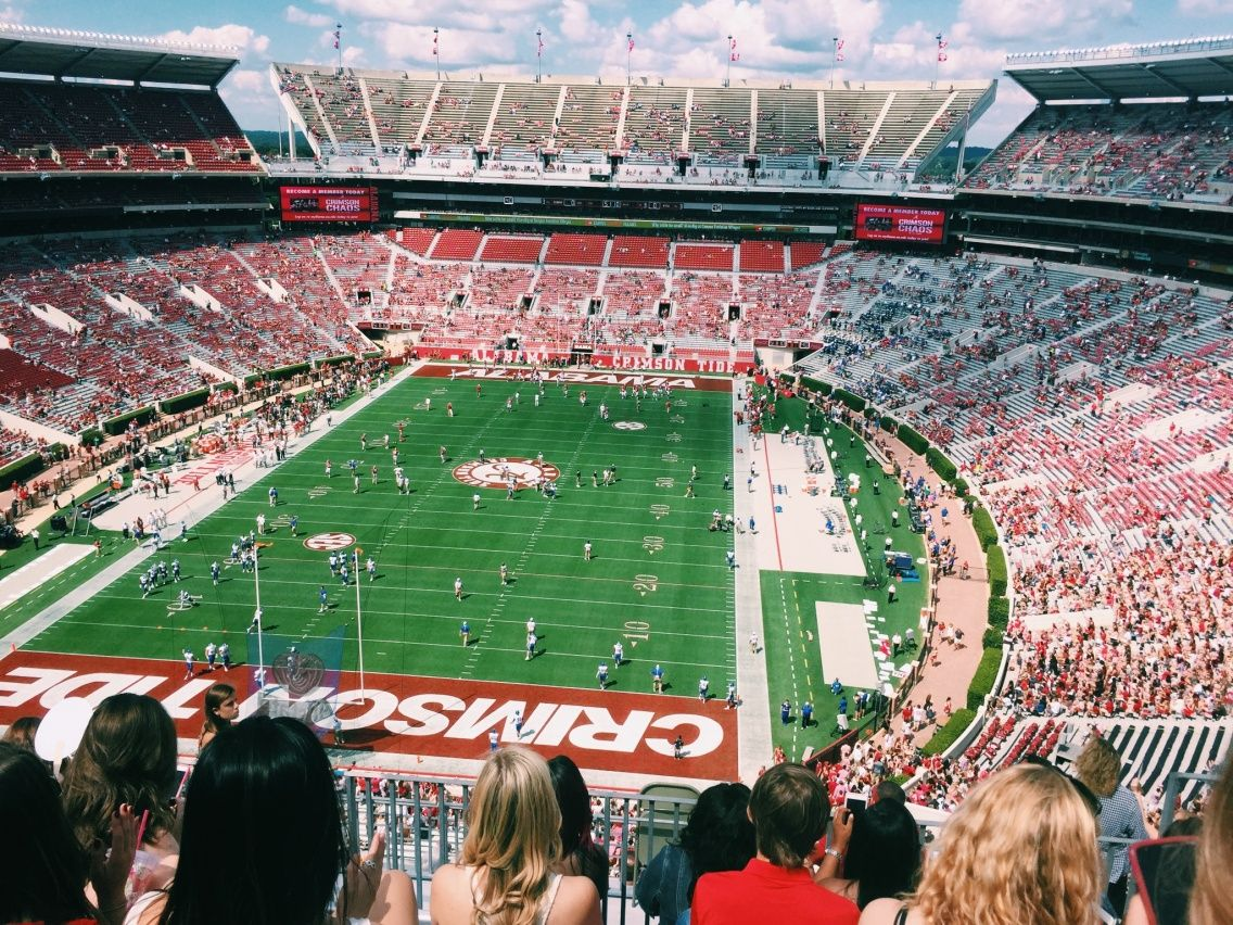 Vsco Alabama Vs Middle Tennessee Bryant Denny Stadium The