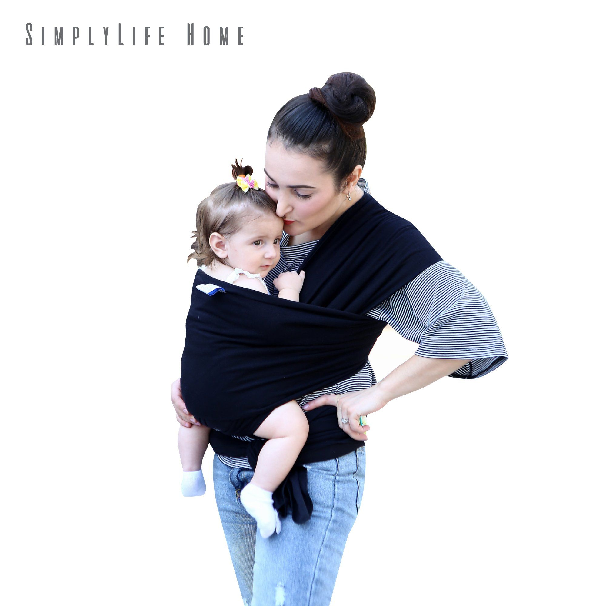 Simply Life Baby Wrap Carrier Flexible Adjustable Wrap Around