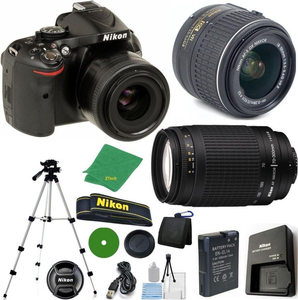 Nikon D5200 24 1 Mp Cmos Digital Slr Nikkor 18 55mm F 3 5 5 6 Auto Focus S Dx Vr Nikon 70 300mm F 4 5 6g Auto F Dslr Camera Reviews Nikon Best Digital Camera