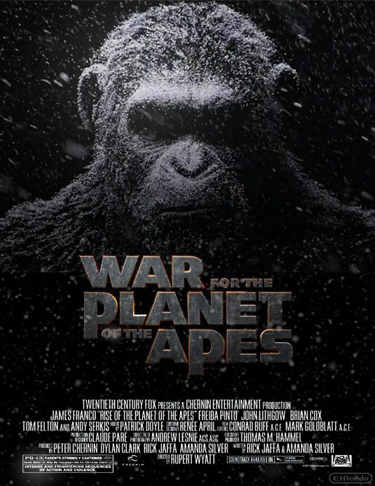 Resultado de imagen de war of the planet of the apes poster large