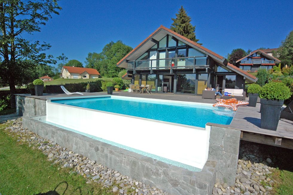 piscine d bordement piscines pinterest piscine piscine a debordement et piscine hors sol