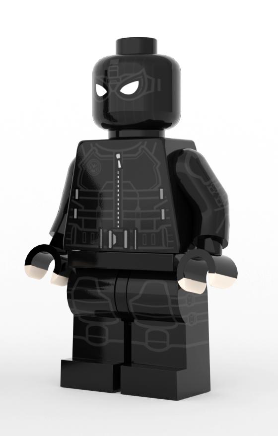 Time To Go Noir Bonecos De Lego Super Herói E Lego Para