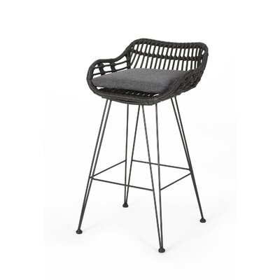 Marvelous Outdoor Bar Stools Creativecarmelina Interior Chair Design Creativecarmelinacom
