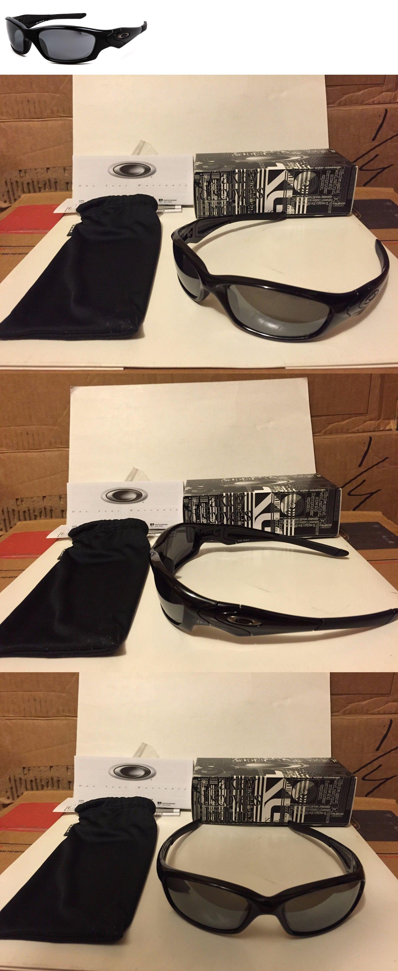 029fed4f5c Sunglasses 151571  New Oakley Straight Jacket 2.0 - Polished Black Black  Iridium Polarized 12-