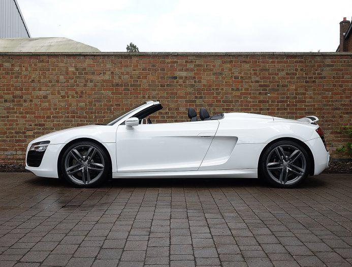 2013 13 Audi R8 V10 Spyder For Sale Ibis White Audi Cars Audi Audi R8 Spyder