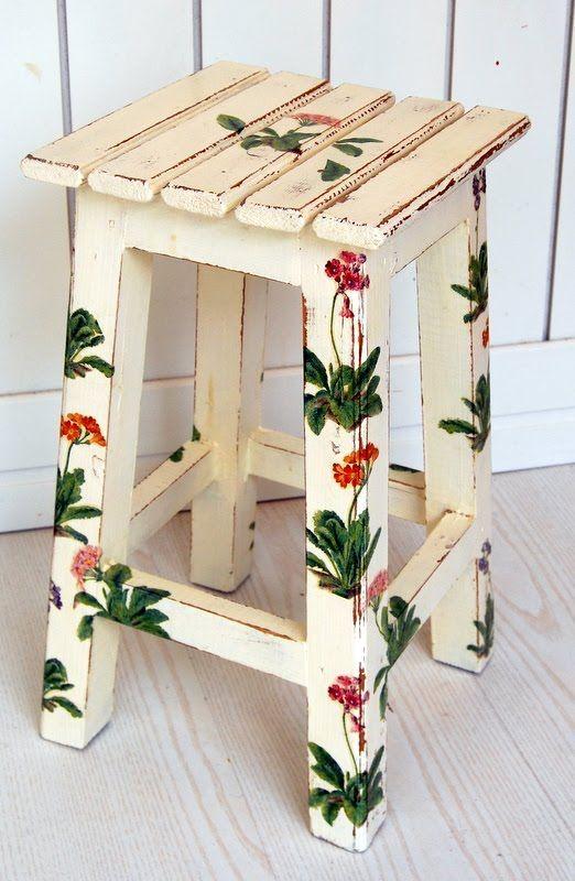 El Rincón Vintage de Karmela Hoy vamos con muebles originales - muebles diy