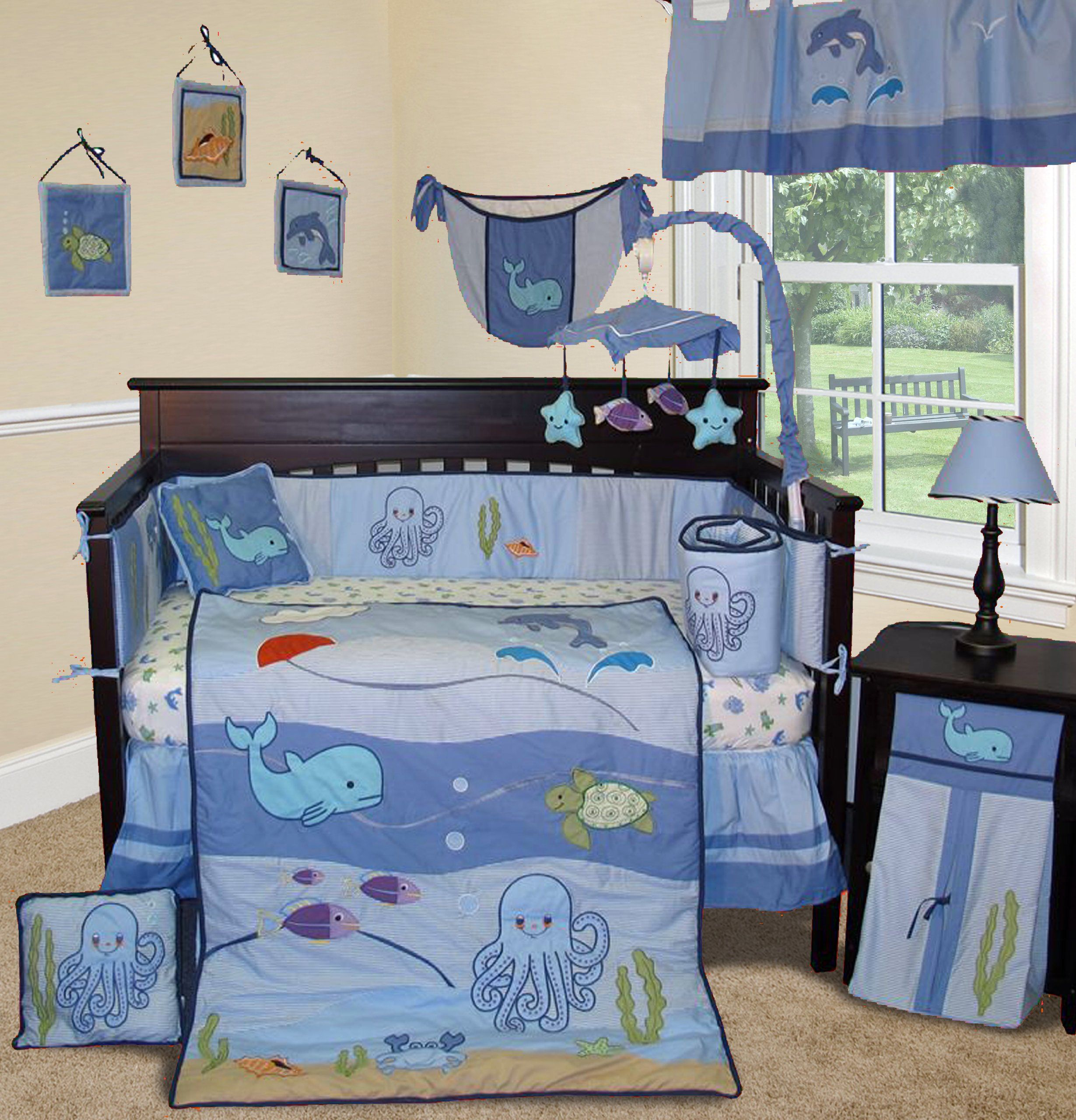 organic set baby star crib pin sleepy bed blanket boy bedding