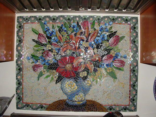 mosaic backsplash - Google Search