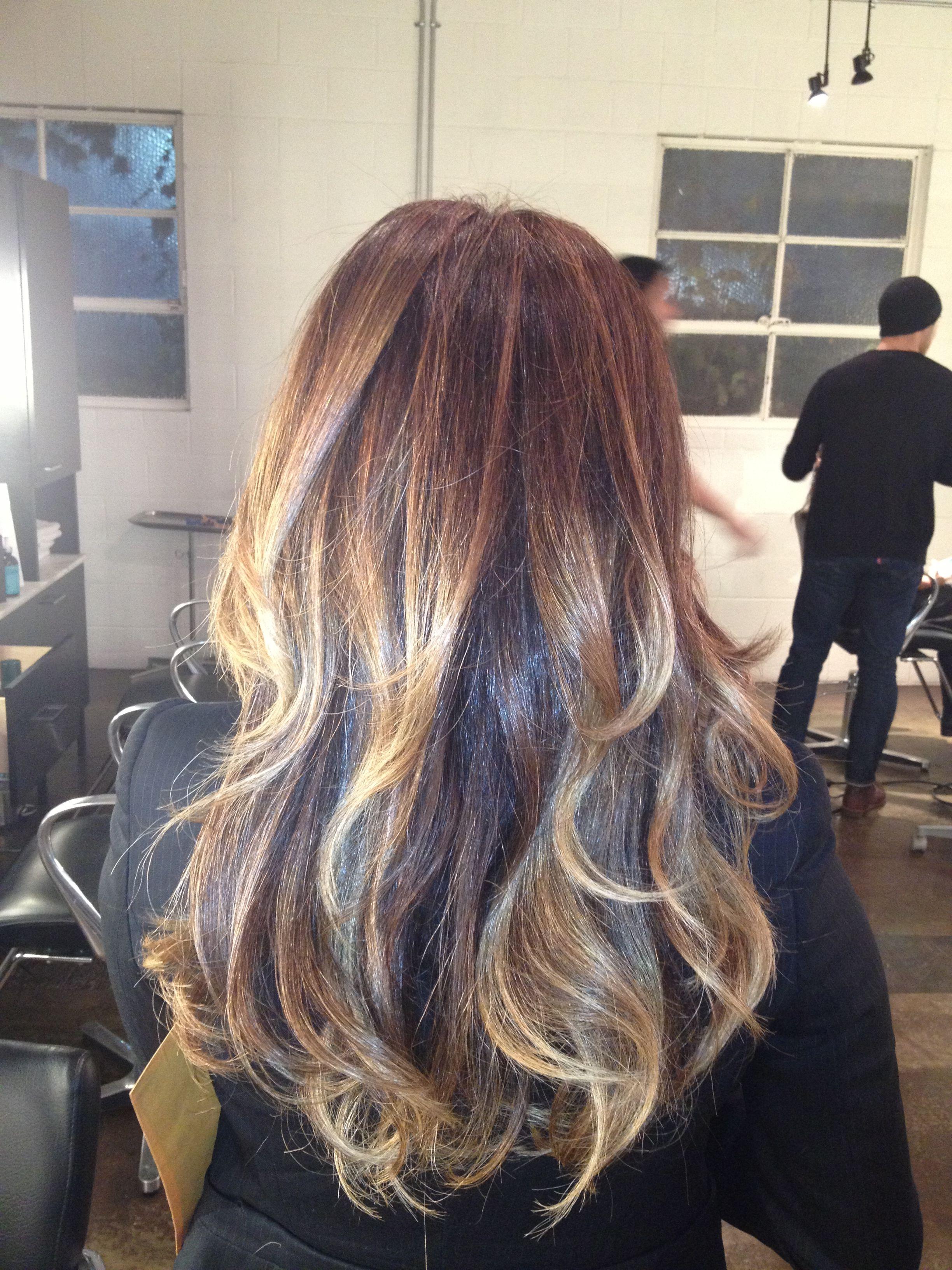 Balayage Hair Color By George Papanikolas
