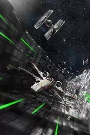 Star Wars Space Battle Wallpaper Phone