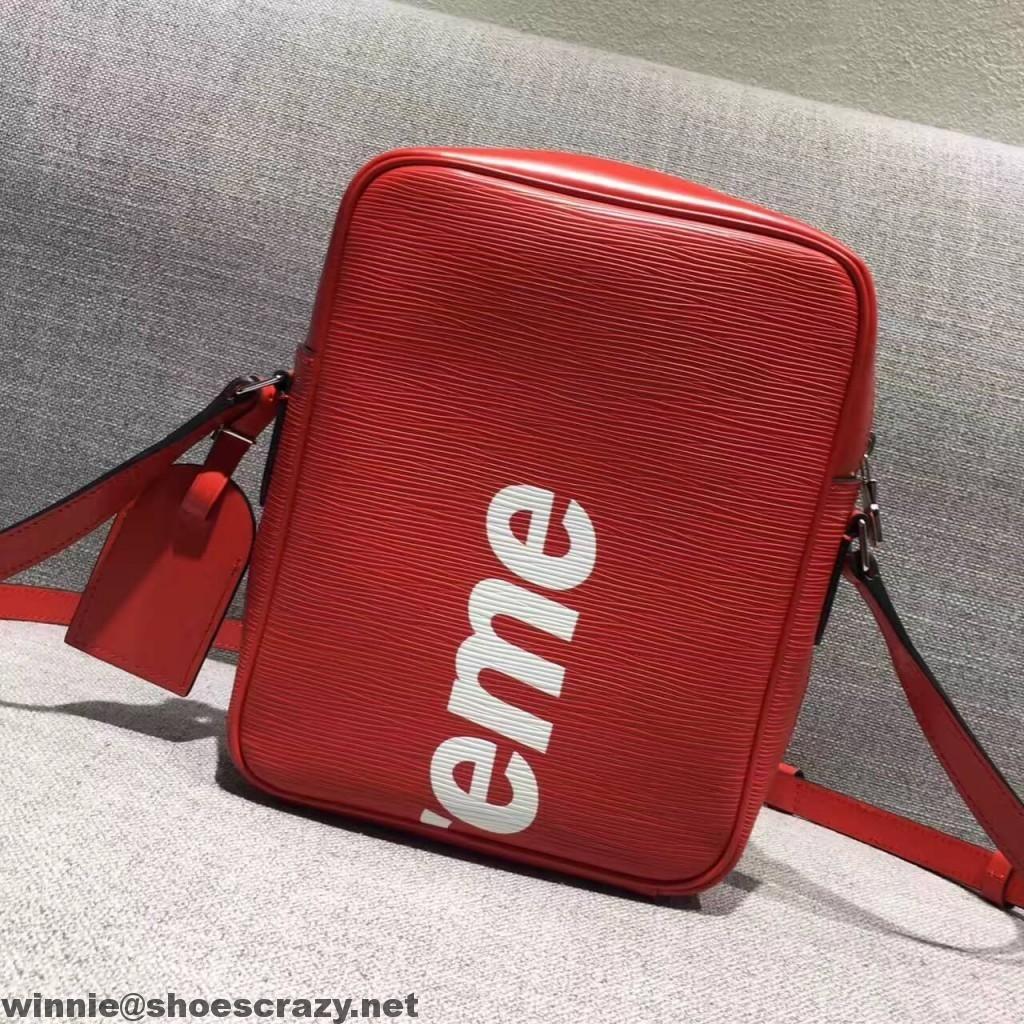8d4a7e332d8a Louis Vuitton x Supreme Epi Leather Cross Body Men s Shoulder Bag ...