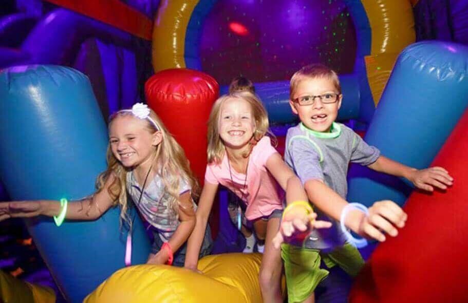 IndoorBirthdayPartyAZ BouceU Gilbert Birthday Party Places Summer Fun