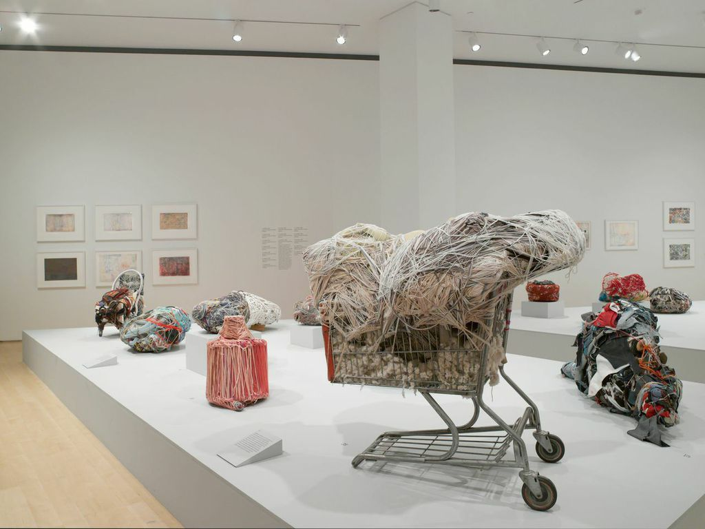 "At the Brooklyn Museum, Judith Scott's Hypnotic Sculptures Transcend ""Outsider Art"""