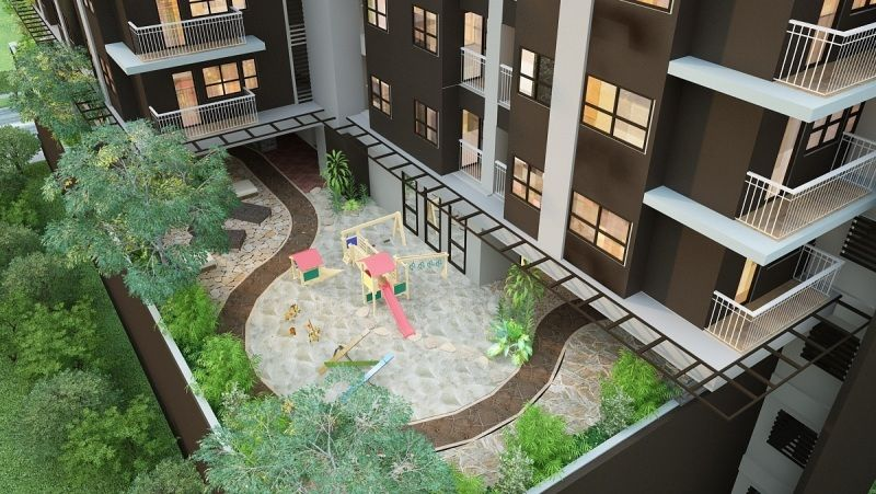 Mabolo Garden Flats offers loft and studio units.