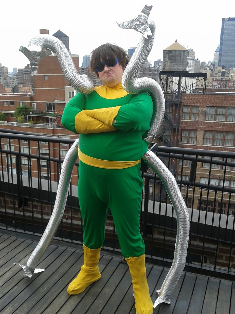 Doctor Octopus Costume Suitable Attire For Any Dinner Party Or