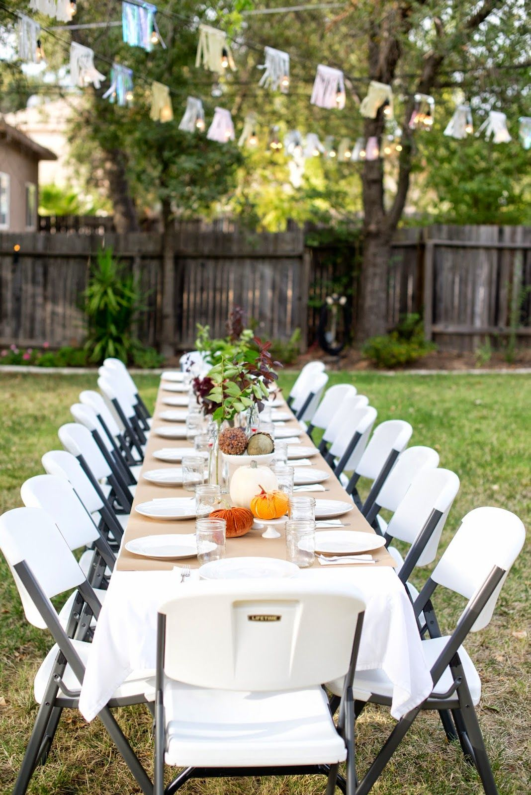 Fall Backyard Entertaining Birthday Party 21st Ideas