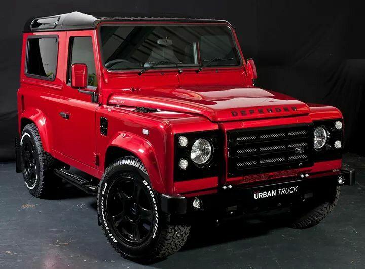 Red Defender Land Rover Defender Land Rover Suv Cars