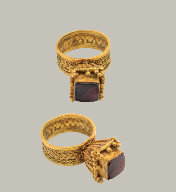 Gold Ring with Filigree Decoration  Visigothic(?), 6th-7th century