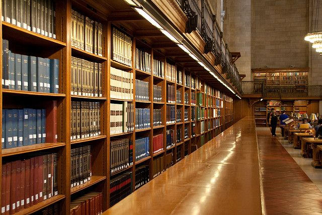 Research collection, in the Rose Main Reading Room.