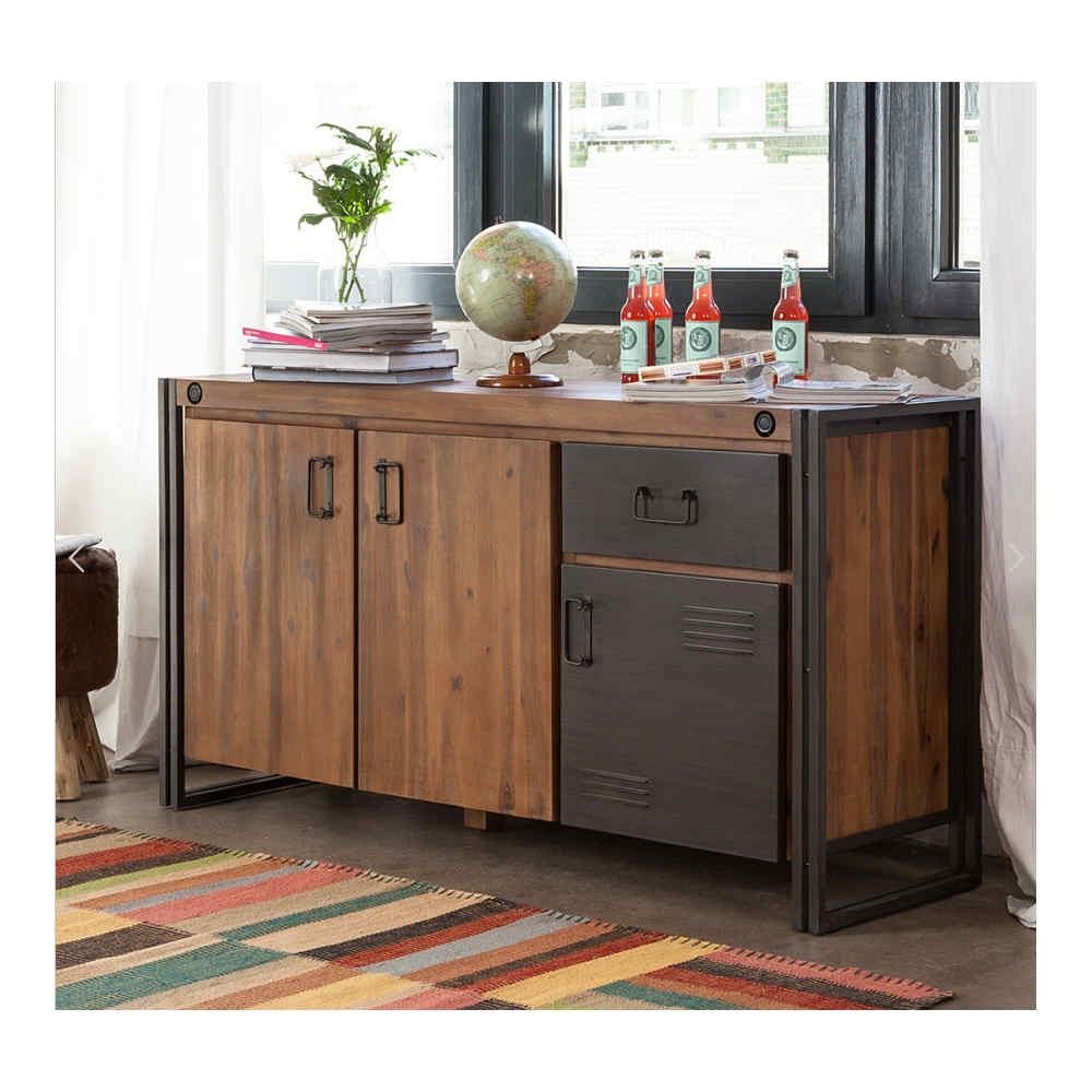 Sideboard From Nook Cranny Vintage Industrial Furniture Living Storage Cabinet Furniture