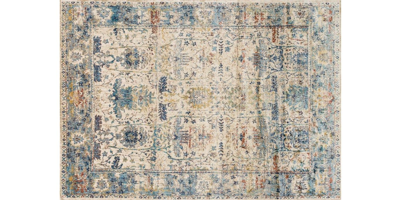 Anastasia Sand Lt Blue Gorgeous Rug With Hints Of Blue
