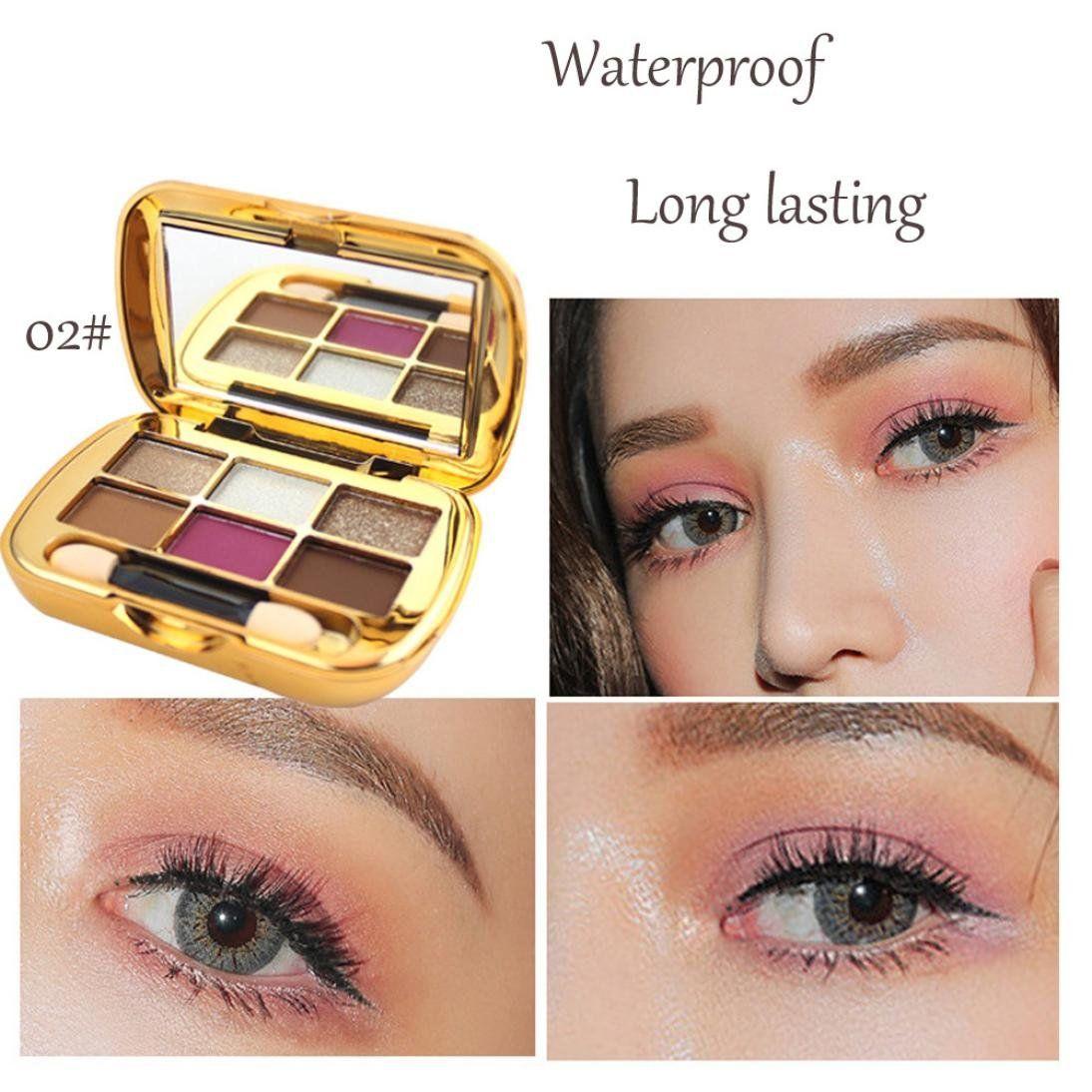 Alonea Shimmer Eyeshadow Palette Eyeshadow Textured