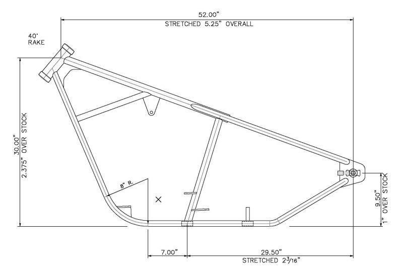 Ez Frame2 Jpg 800 545 Chassi De Moto Quadro De Moto Projetos De Garagem