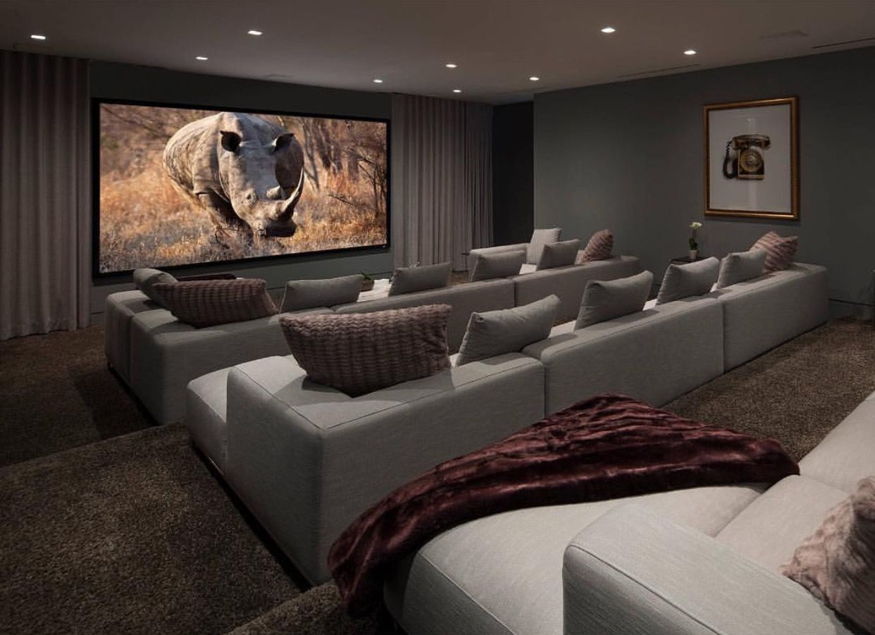 Pin By Dee Dee On Movie Night Home Cinema Room Home Theater Rooms Home Theater Furniture