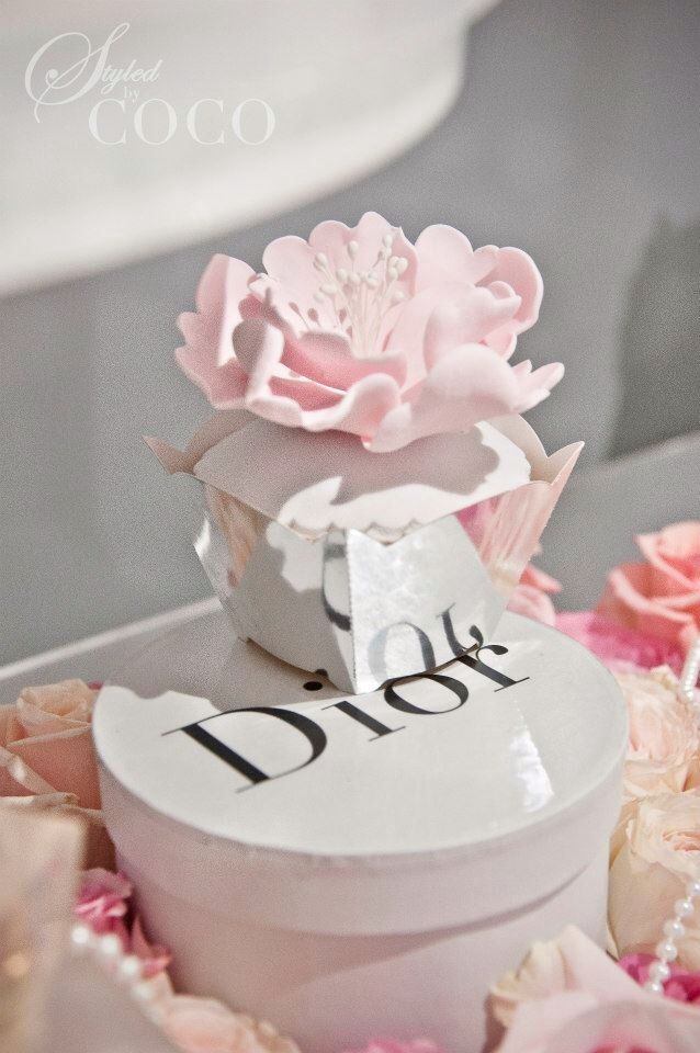 Miss Dior First Birthday Theme Dior Jadore Pinterest Party