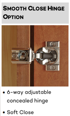Soft Close Hinges Select Available In 2882 D Atherton By Phoenix Concealed Hinges Can Opener Hinges