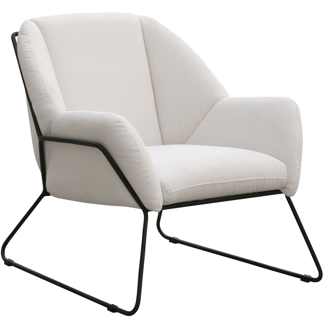 Marco Luxe Velvet Armchair Armchair Contemporary Armchair