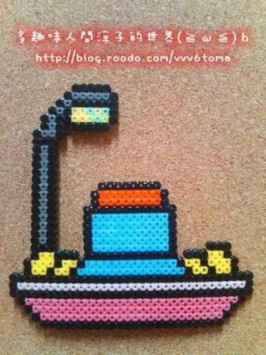 多趣味人間涼子的世界 拼豆 雖然遲了點 讓多啦a夢來賀新春吧www 樂多日誌 perler beads perler diy and crafts