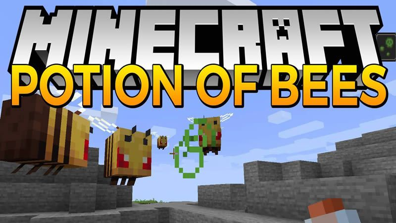 Potion Of Bees Mod For Minecraft 1 15 2 Minecraft Juegos
