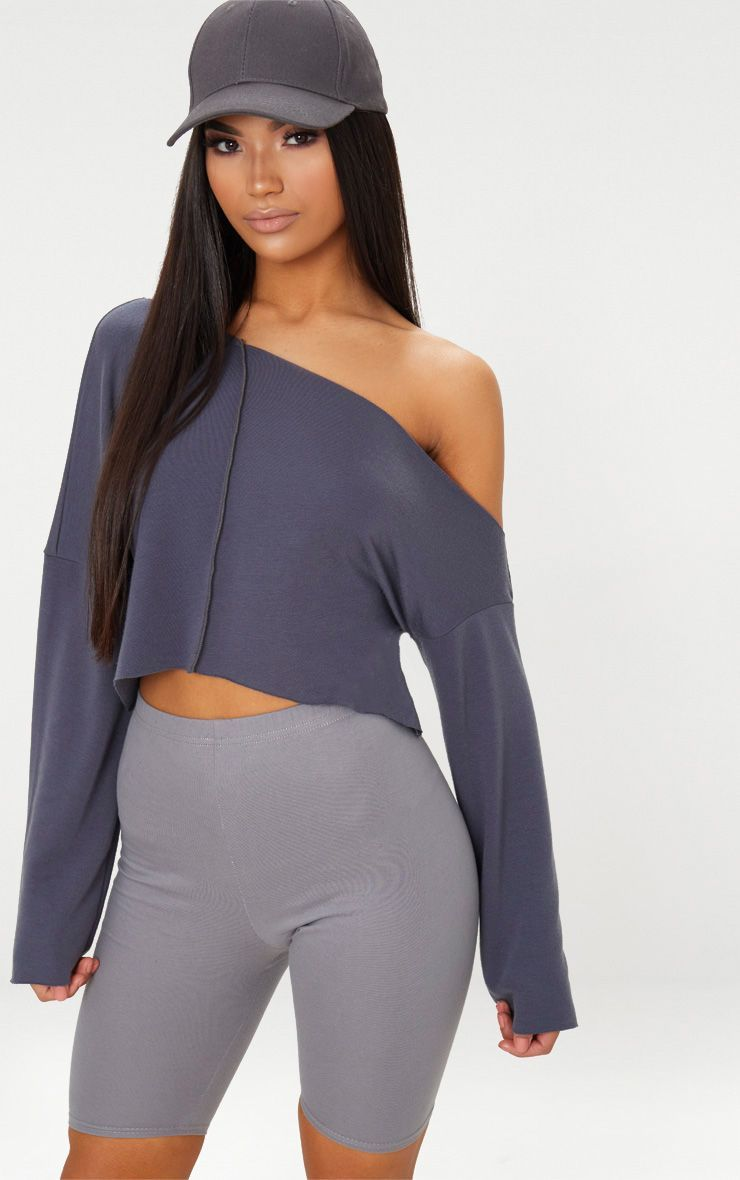 44d2fd57ec6b39 Off White Off Shoulder Sweater