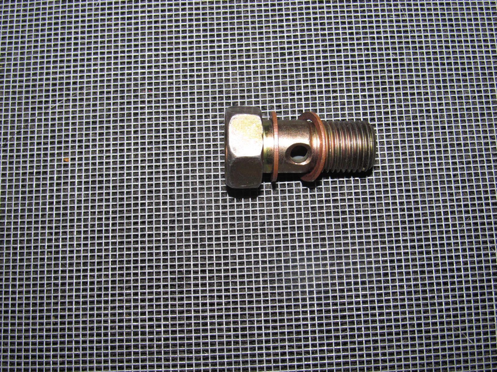 94-01 acura integra oem fuel line fuel filter banjo bolt - 1 piece