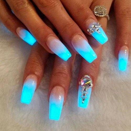 pin nail polish ombre