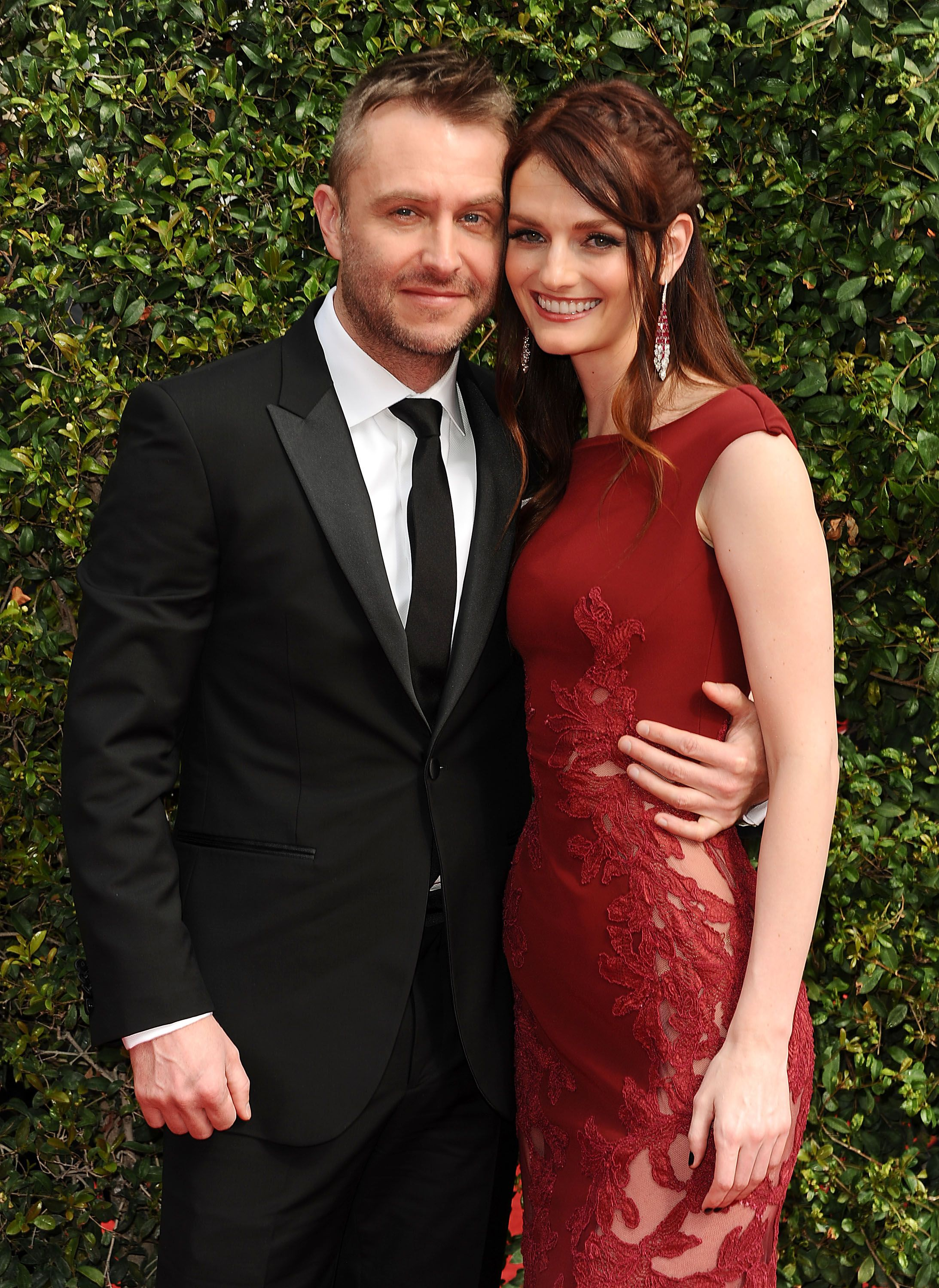 Chris Hardwick is Engaged to Lydia Hearst See Her Stunning Ring
