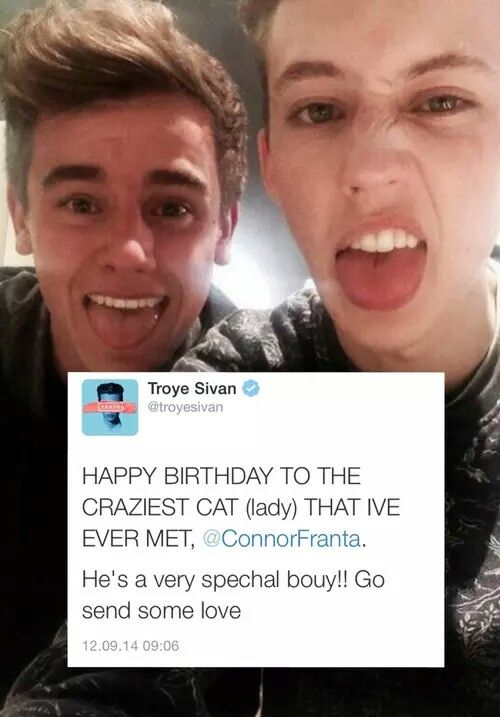 Troye sivan dating connor franta